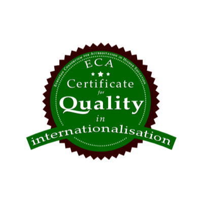 Certificate for Quality in Internationalisation - ECA