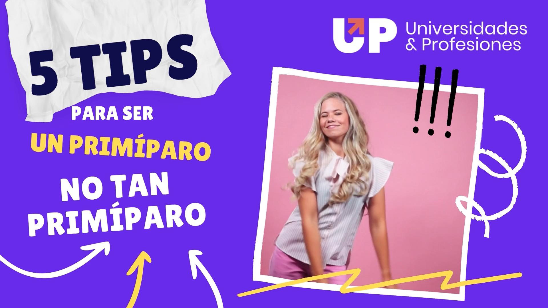 Post for 5 tips para primíparos